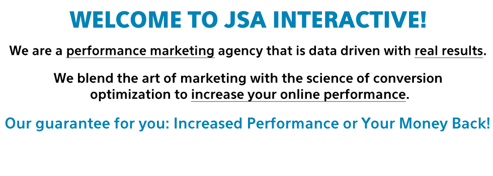 Welcome To JSA Interactive