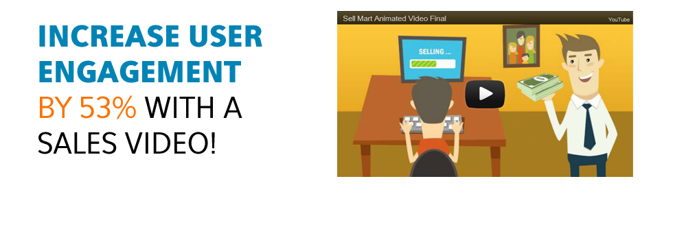 Increase User Engagement By 53% With a Sales Video