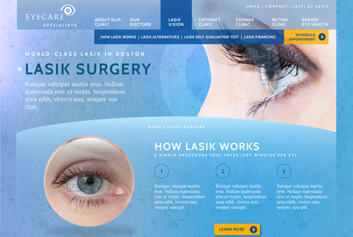 Eye Care Website