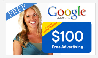 free 100 google adwords coupon promo code. Black Bedroom Furniture Sets. Home Design Ideas