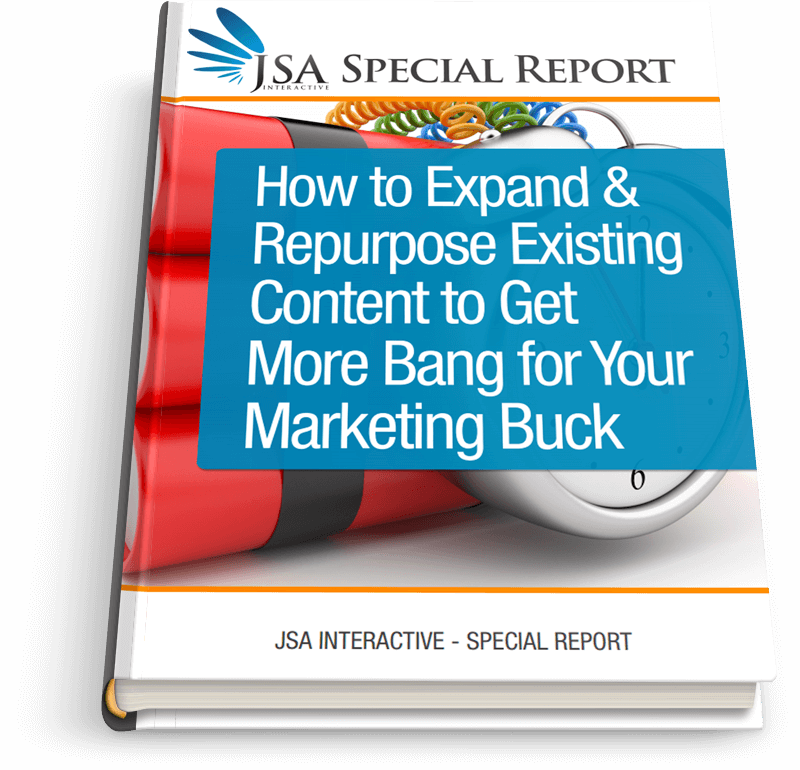How to Expand And Repurpose Existing Content to Get More Bang for Your Marketing Buck